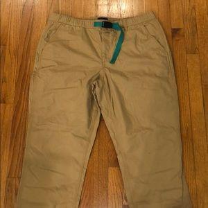 J.Crew men's elastic waist slacks- XL